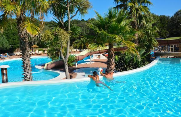 Camping piscine Bonifacio