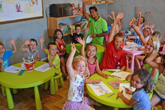 Club enfant camping Sud Corse