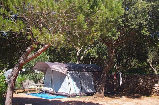 Emplacement camping Bonifacio