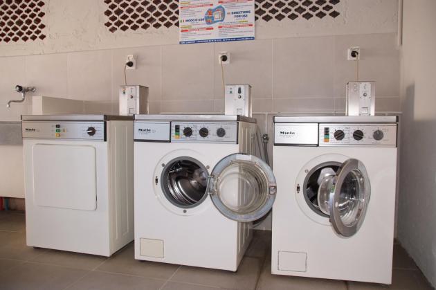 Laverie des sanitaires