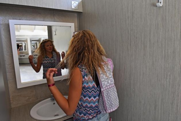 Sanitaire espace lavabo